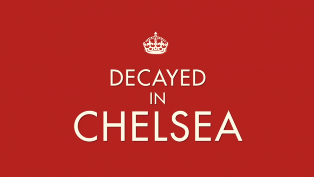 Decayed in Chelsea