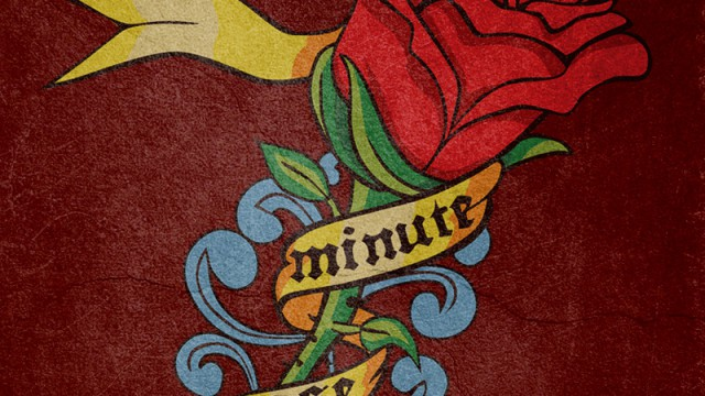 7 Minute Rose Logo Design