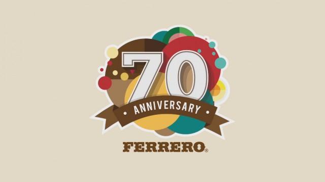 Ferrero Celebrating 50 Years